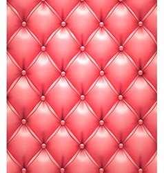 Pink upholstery leather pattern background vector image