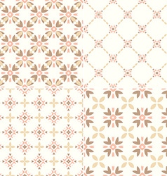 Simple Patterns vector image