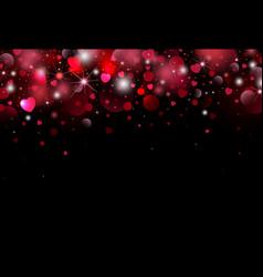 valentines day background design vector image