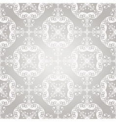 seamless vintage lacy floral pattern vector image vector image
