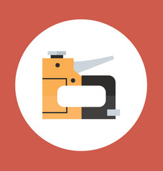 Drill icon working hand tool equipment concept vector