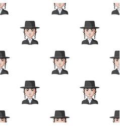 Jewhuman race single icon in cartoon style vector