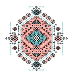 Beautiful Mexican Tribal isolated ornament vector image