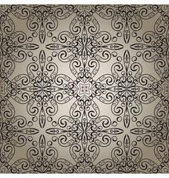 seamless vintage retro pattern vector image vector image