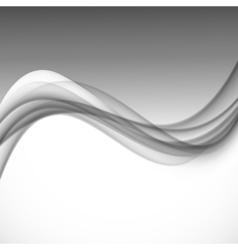 Abstract dynamic smooth design background vector image vector image