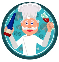 cook french vector image