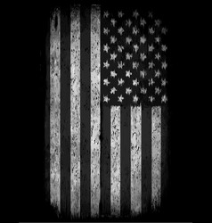american grunge flag an american grunge flag for vector image