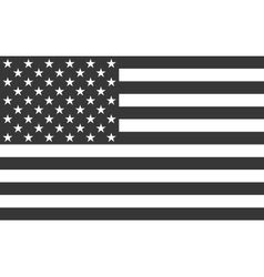 American National official political flag vector image