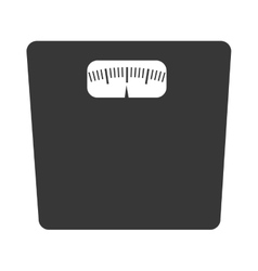 balance weight front view graphic vector image