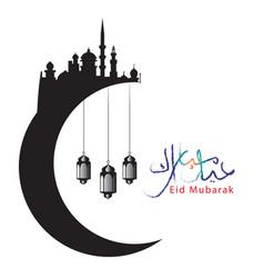 eid al fitr event background 15 vector image