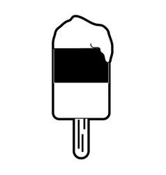 ice cream on stick icon image vector image