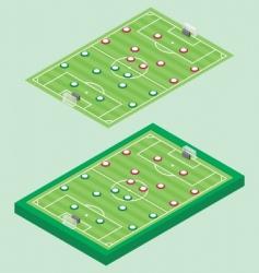 Isometric soccer vector