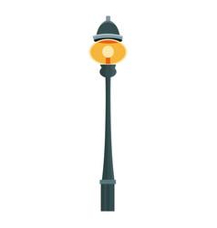 Lantern light bulb christmas decoration imagem vector