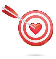 love target vector image