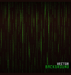 Matrix background vector