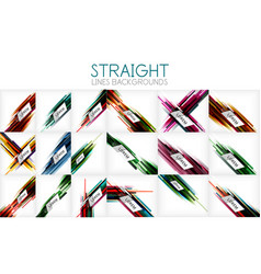 mega collection of straight line abstract vector image