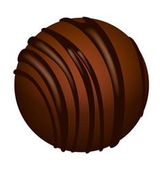 Truffle icon isometric style vector