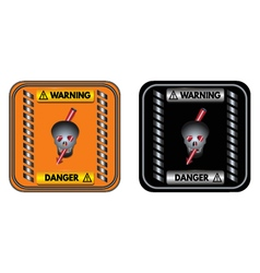 Warning sign Danger vector image