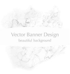 white banner vector image