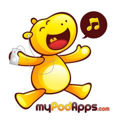 yellow hippopotamus mascot character vector image