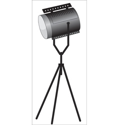 Spotlights vector image vector image
