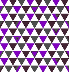 Brazil Top Colors Background Triangle Polygon vector image