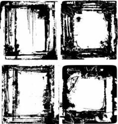 brush effect vector image