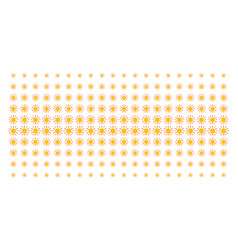 light bulb shape halftone pattern vector image