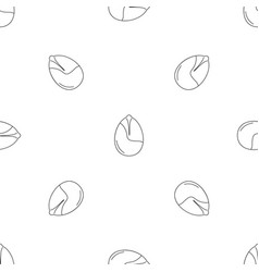 nut pattern seamless vector image