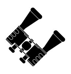 Pictograph binoculars accesorie tourism camping vector