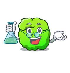 Professor shrub character cartoon style vector