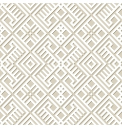 Seamless geometric pattern background in paper vector image