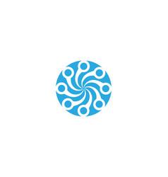 vortex logo and symbol vector image