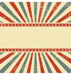 circus style background vector image vector image