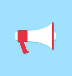 megaphone icon cartoon style marketing concept vector image