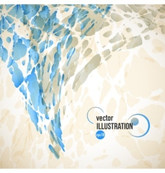 abstract background of beige and blue spots vector image