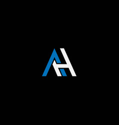 Ah or ha abstract outstanding professional vector
