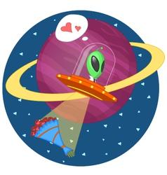 Alien love vector