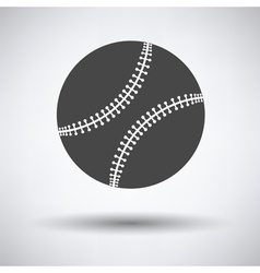 Baseball ball icon vector image