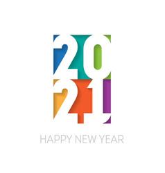 brochure or calendar cover design template happy vector image