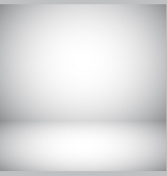 empty gray studio abstract background vector image