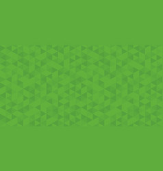 green triangular abstract background modern vector image