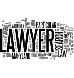 Lawyer search text background word cloud concept vector