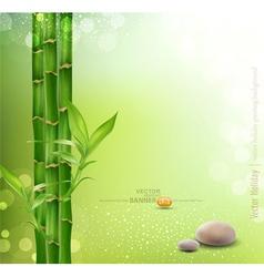 Meditative oriental background vector