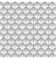 pattern scales with lines vector image vector image