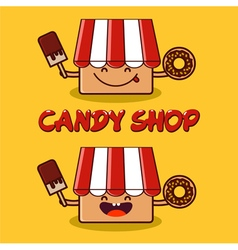 Candy shop vector