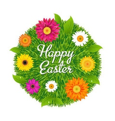 Happy Easter Ball vector image vector image