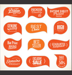 modern sale stickers collection 8 vector image