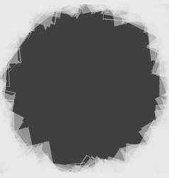 Random scattered shapes can be used as a frame vector
