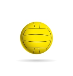 Water polo ball logo for the team and the cup vector